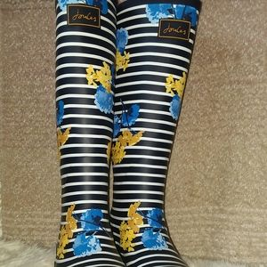 Joules Printed Wellies BNWB 8